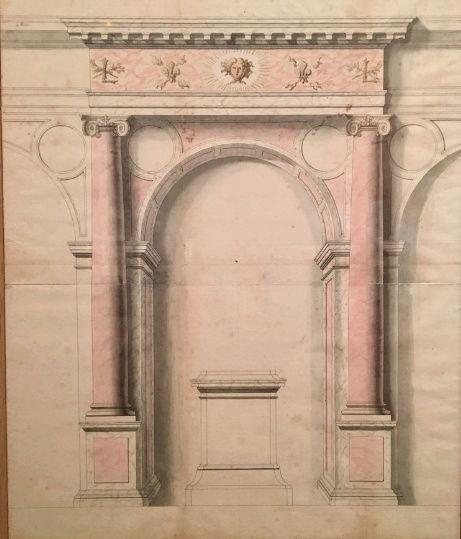 Dessiner pour bâtir,  le métier d'architecte au XVIIe siècle Captu200