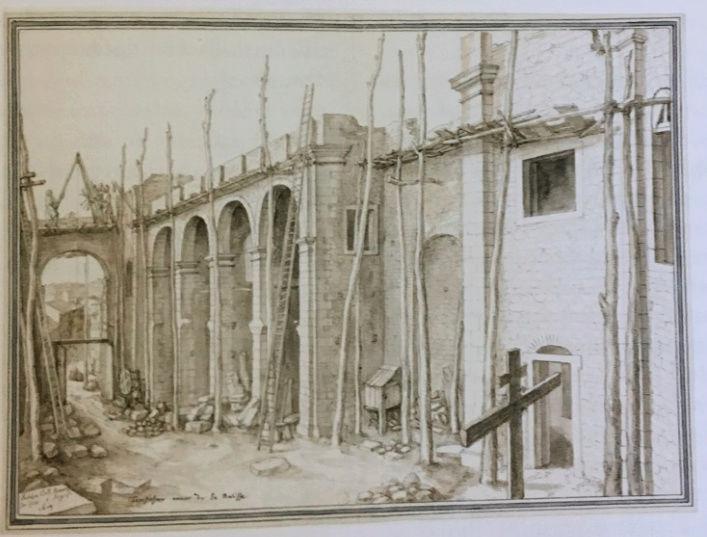 Dessiner pour bâtir,  le métier d'architecte au XVIIe siècle Captu202