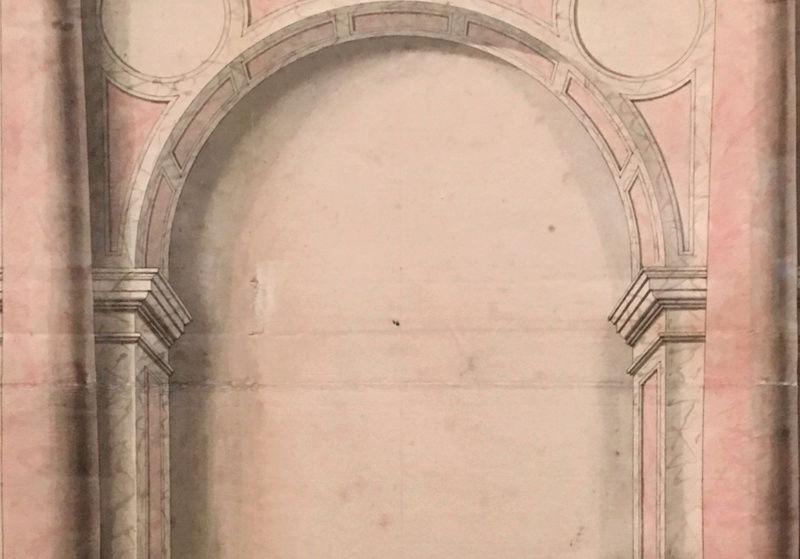 Dessiner pour bâtir,  le métier d'architecte au XVIIe siècle Captu204
