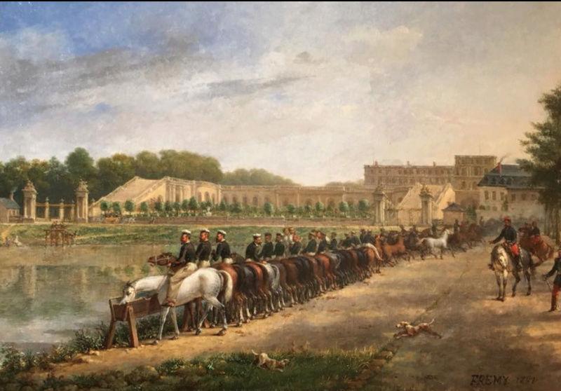 """Exposition """"Le cheval : Art et pouvoir"""" à Versailles  Captu339"""