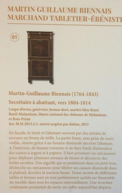 Rueil-Malmaison : Meubles à secrets, secrets de meubles Captu421