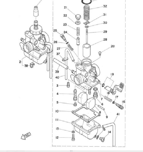 Carburation  RD 200 - Page 3 Carbu11