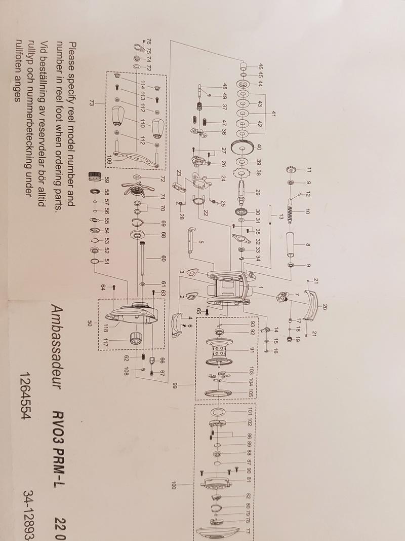 recherche bobine pour moulinet casting REVO PREMIER 20180410