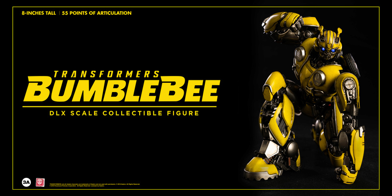 Transformers Bumblebee DLX and Premium Scale Collectible Figures  Bbb_dl23