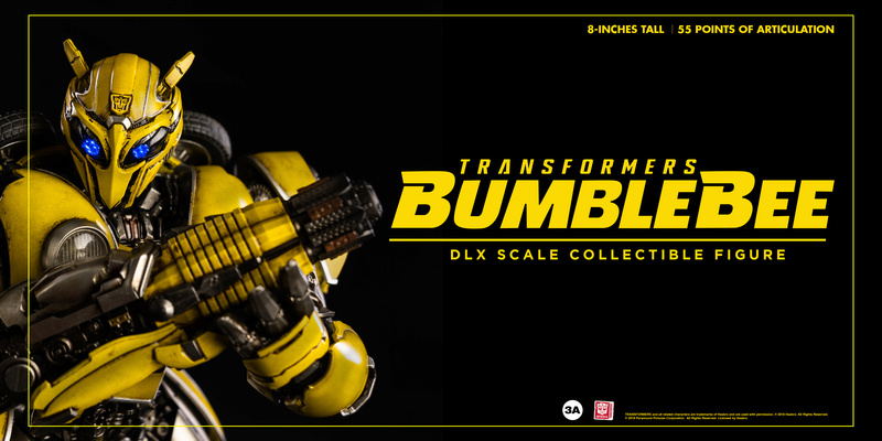 Transformers Bumblebee DLX and Premium Scale Collectible Figures  Bbb_dl24