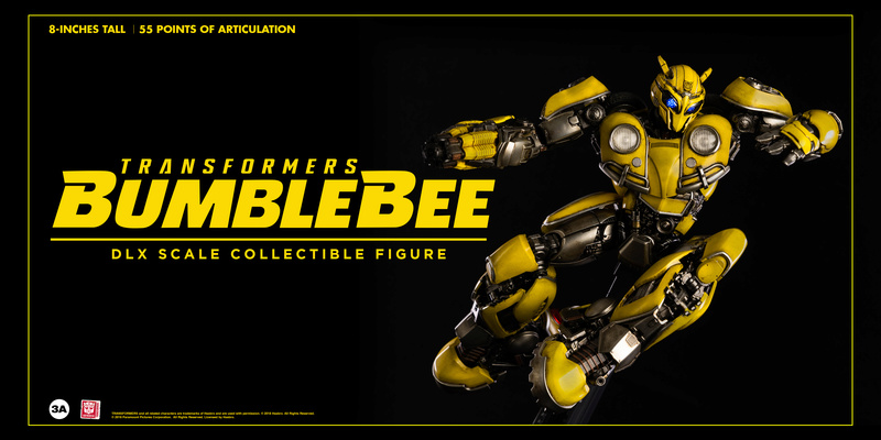 Transformers Bumblebee DLX and Premium Scale Collectible Figures  Bbb_dl25