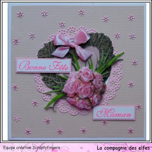 Carte fête des mères. Jo10_211