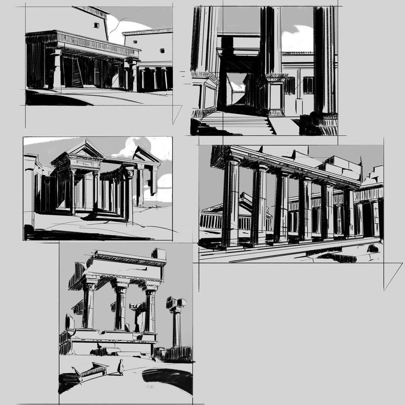 Les gribouilles d'Atna: objectif landscape et persos - Page 39 Perspe12