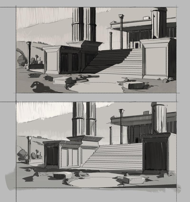 Les gribouilles d'Atna: objectif landscape et persos - Page 40 Sans-t23