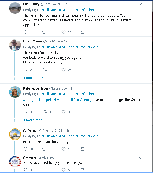 Bill Gate Shares About His Visit To Nigeria On Twitter. See What He Has To Say (PHOTOS) 312