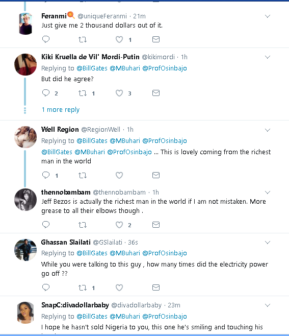 Bill Gate Shares About His Visit To Nigeria On Twitter. See What He Has To Say (PHOTOS) 612