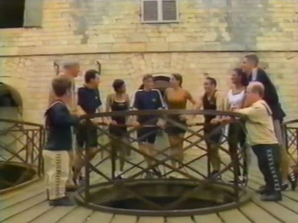 Fort Boyard 1997 - Émission 03 - Équipe Marc-Olivier Fogiel Fogiel12