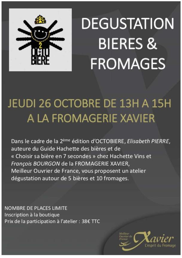 OCTOBIERE: Elisabeth PIERRE / Fromagerie XAVIER Jeudi 26 octobre Octobi10