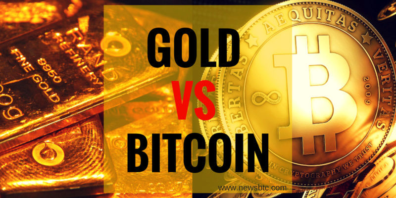 BITCOIN versus GOLD  Bitcoi11