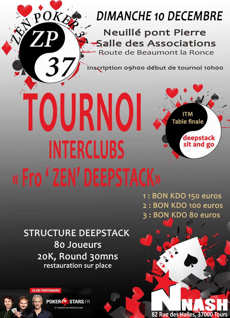 tournoi du ZEN POKER 37, dimanche 10 decembre 2017. Tourno12