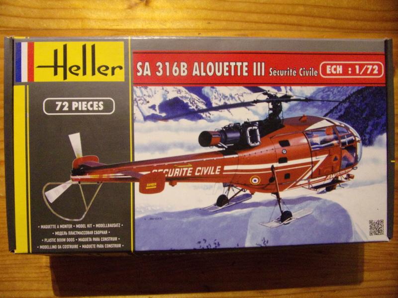 SA316B ALOUETTE III Sécurité Civile [heller réf 80289 - 1/72éme] 104_0028