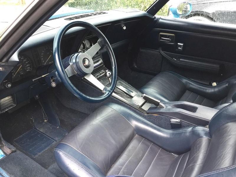 avis sur corvette 1979 l82 boite automatique 30712510