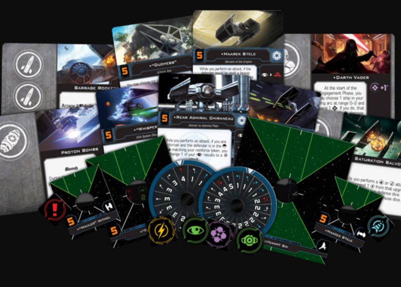 X-Wing 2.0 Demo-Spiel mit Team Covenant Screen11