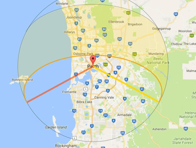 Płaska ziemia - czy można tej teorii zaprzeczyć? - Page 5 Perth_10