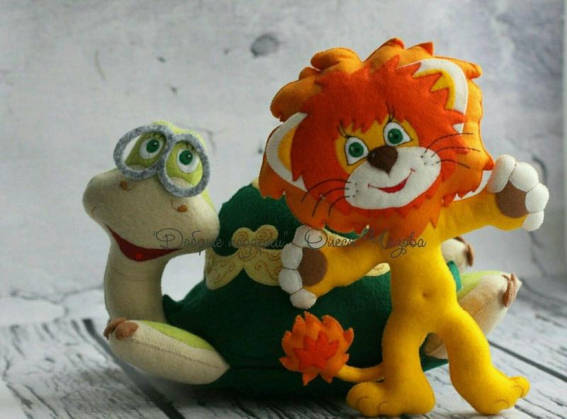"""Tchaïka """"petit lion"""" Peluch10"""