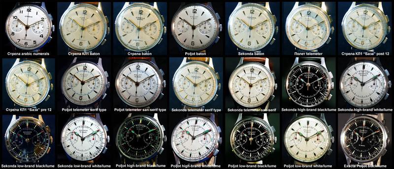 Chronographe Poljot Strela10