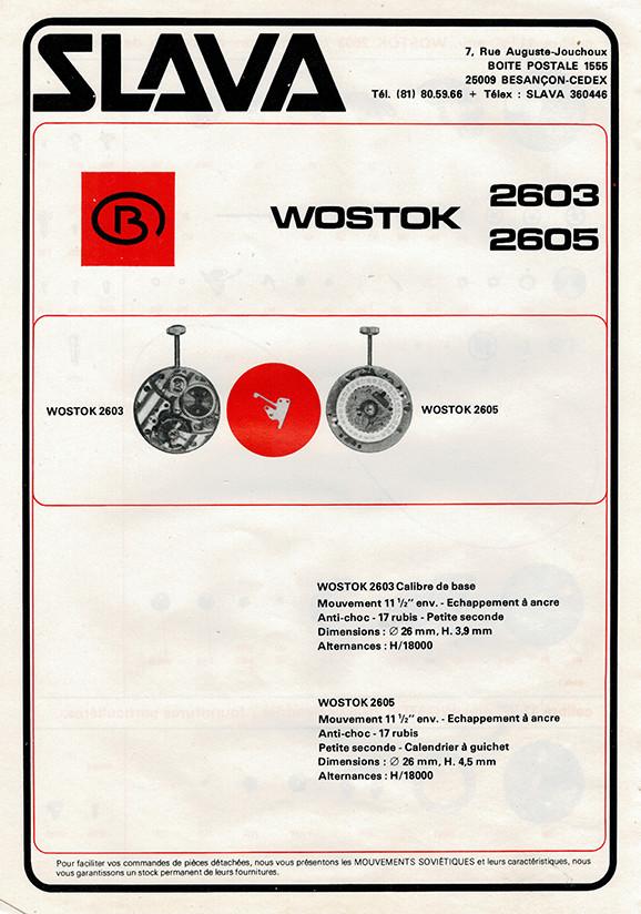 Fiches techniques de mécanismes soviétiques Wostok10
