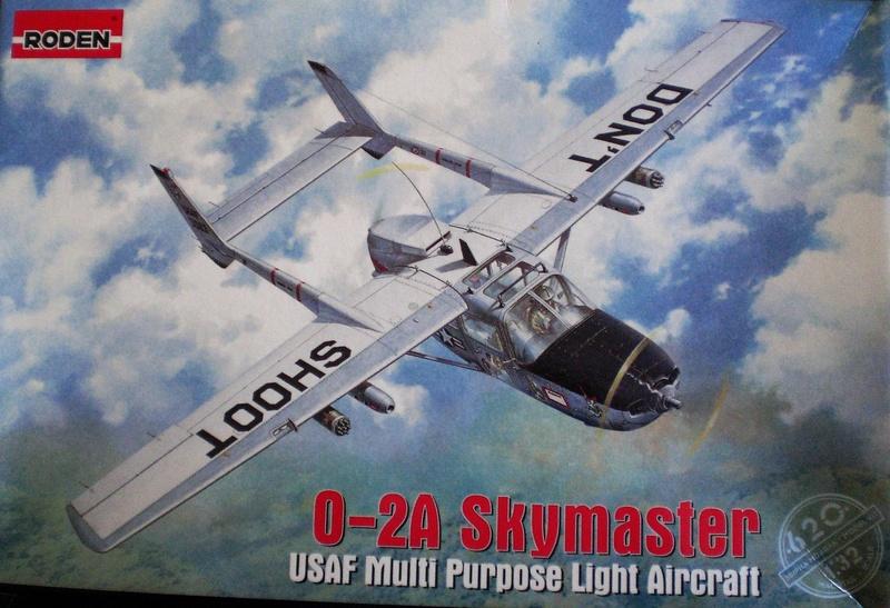 Fertig - die O-2A skymaster, 1/32, RODEN, von oluengen359 Cimg5519