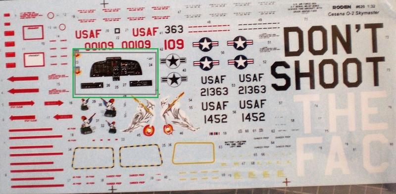 Fertig - die O-2A skymaster, 1/32, RODEN, von oluengen359 Cimg5520