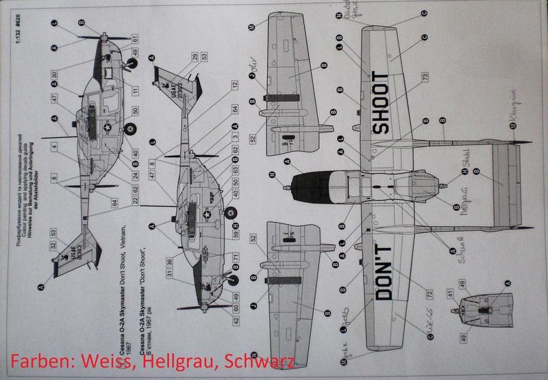 Fertig - die O-2A skymaster, 1/32, RODEN, von oluengen359 Cimg5522