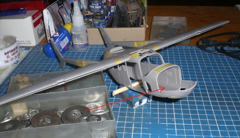 Fertig - die O-2A skymaster, 1/32, RODEN, von oluengen359 Cimg5525