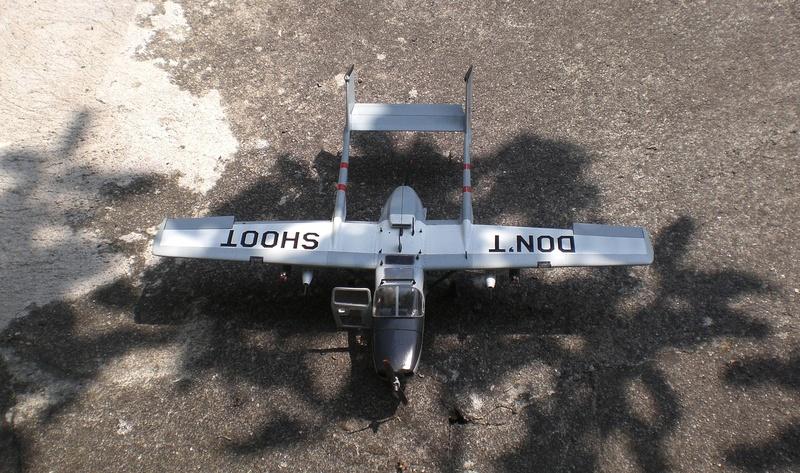Fertig - die O-2A skymaster, 1/32, RODEN, von oluengen359 Cimg5621