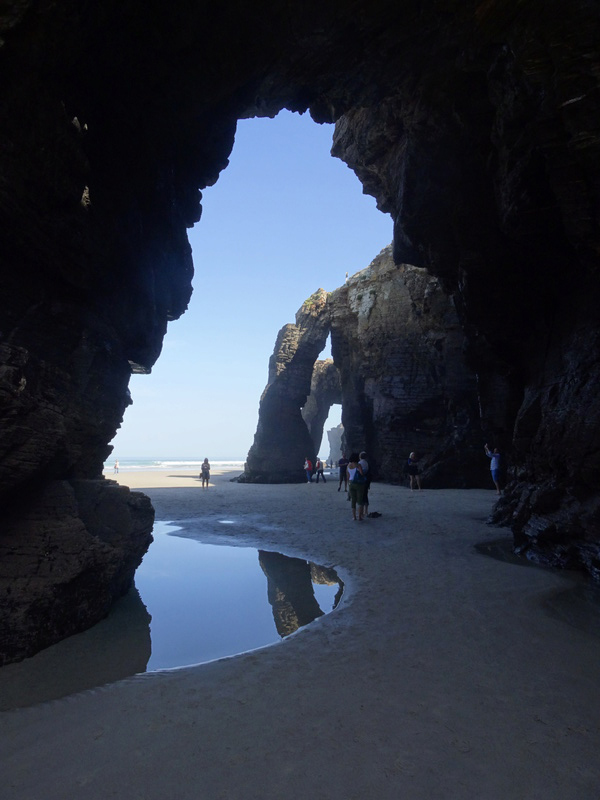 Playa de las catedrales Dsc04210