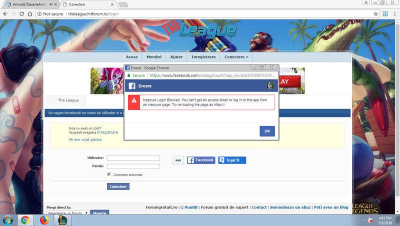 Probleme Facebook Connect Forum10