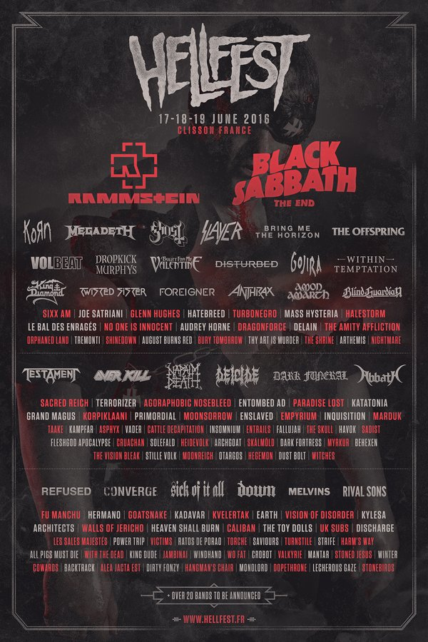 HELL FEST 2018 201610