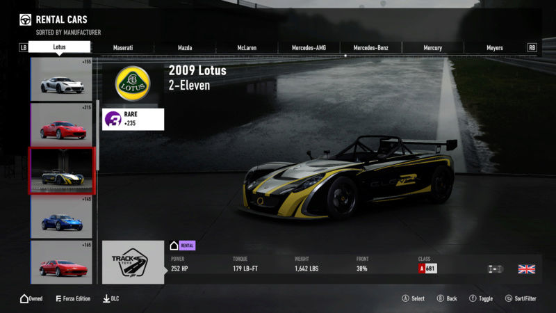 FM7 Time Attack | Stock Car Challenge #2 (2009 Lotus 2-Eleven) Lotuss10