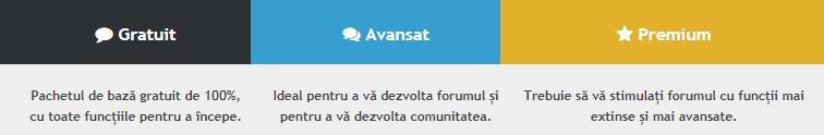 Noutate: Pachete Forumgratuit Disponibile Pachet11