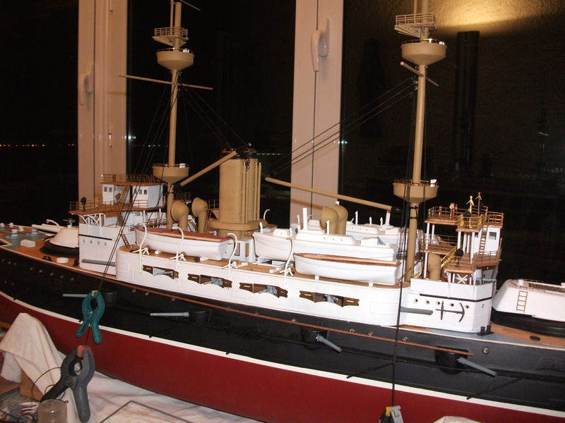 HMS HANNIBAL 1/96  (Predreadnought) DEAN'S MARINE - Page 5 Dscf3110