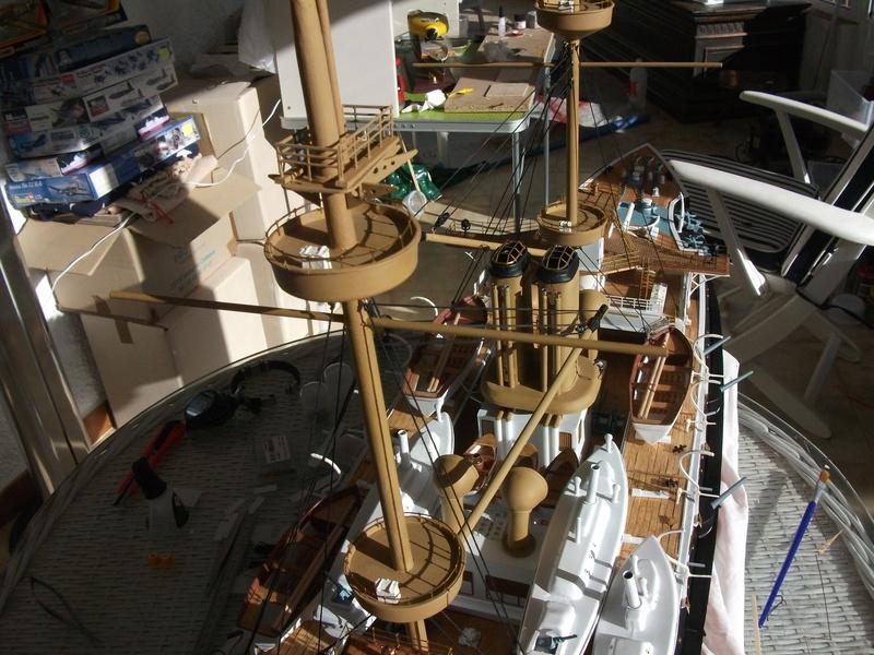 HMS HANNIBAL 1/96  (Predreadnought) DEAN'S MARINE - Page 5 Dscf3121