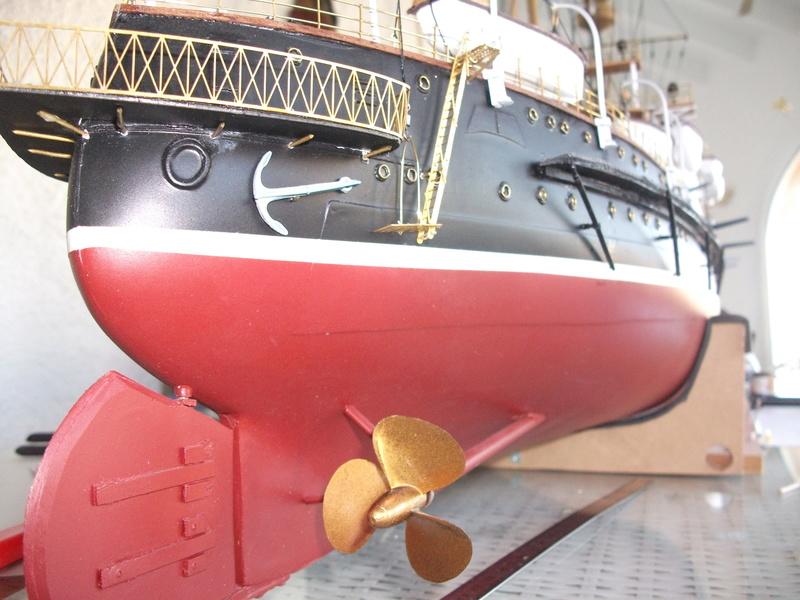 HMS HANNIBAL 1/96  (Predreadnought) DEAN'S MARINE - Page 6 Dscf3622