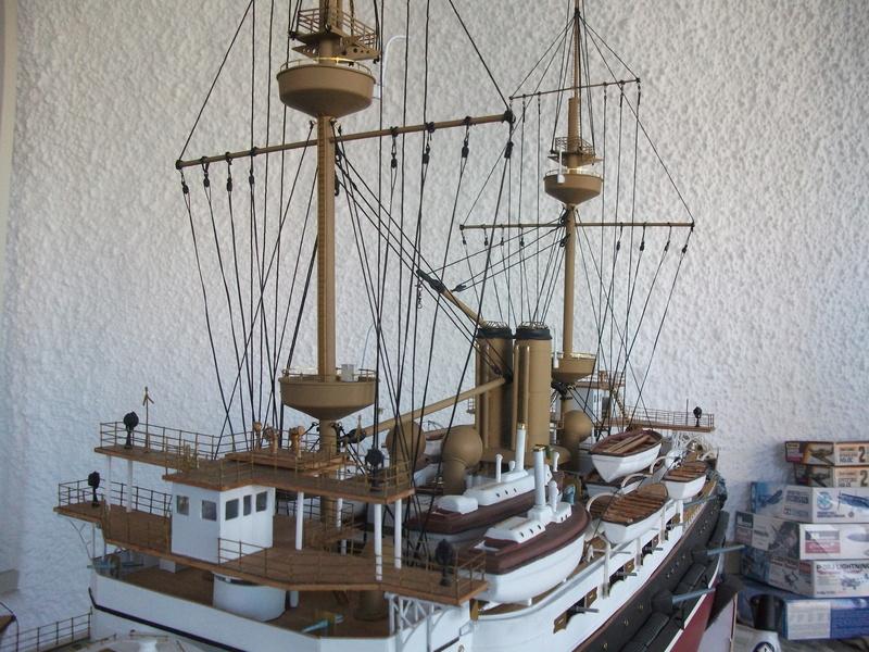 HMS HANNIBAL 1/96  (Predreadnought) DEAN'S MARINE - Page 8 Dscf3629