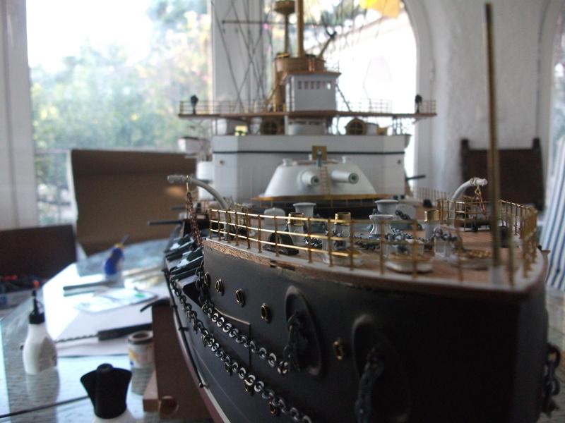 HMS HANNIBAL 1/96  (Predreadnought) DEAN'S MARINE - Page 6 Dscf3631