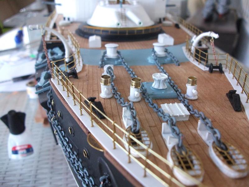 HMS HANNIBAL 1/96  (Predreadnought) DEAN'S MARINE - Page 8 Dscf3633