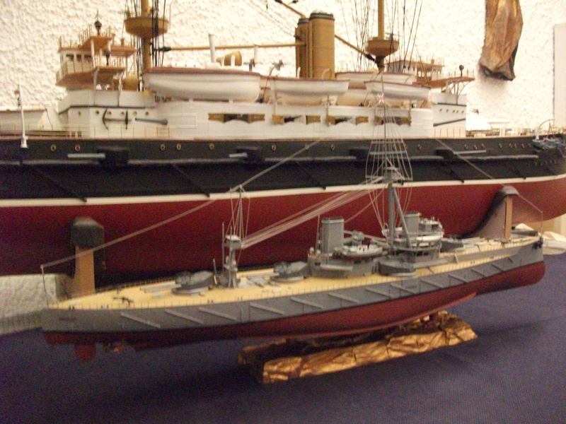 HMS HANNIBAL 1/96  (Predreadnought) DEAN'S MARINE - Page 9 Dscf3737