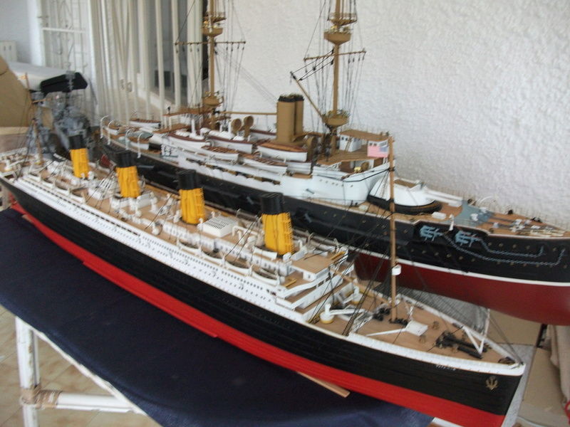 R.M.S Titanic 1/400 Academy Dscf3743