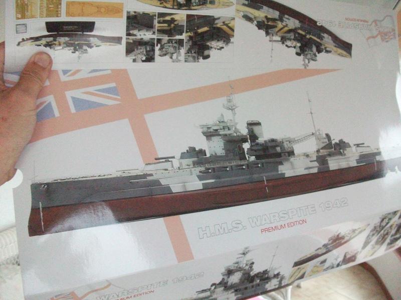 HMS WARSPITE 1/350 ème Academy édition spéciale Dscf3956
