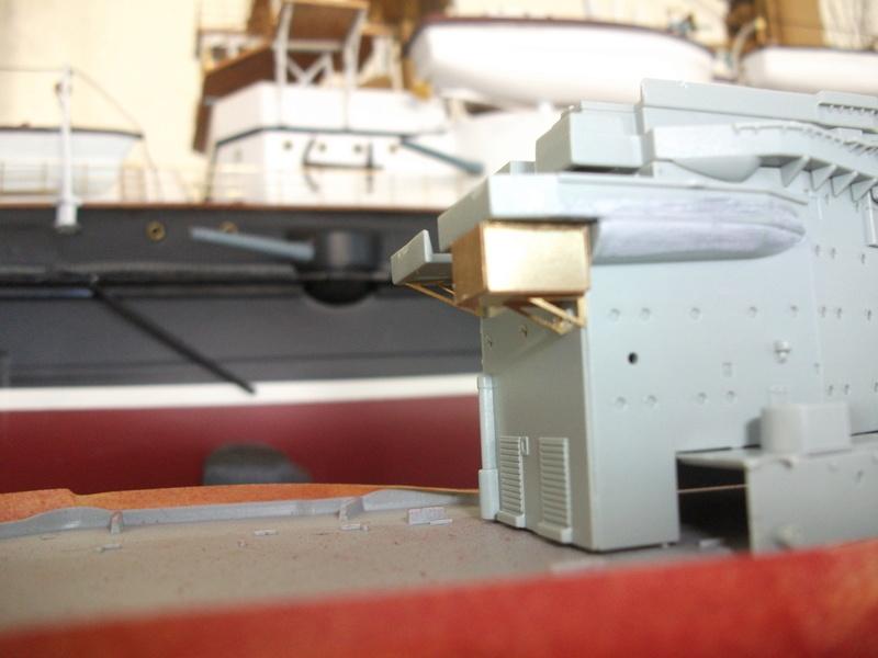 HMS WARSPITE 1/350 ème Academy édition spéciale Dscf4020