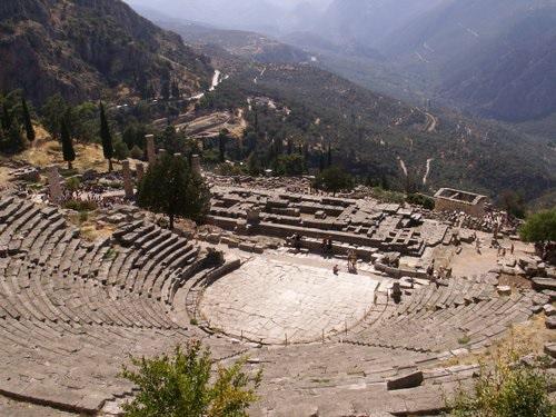 Projet de voyage en Grèce été 2018 Delphi10