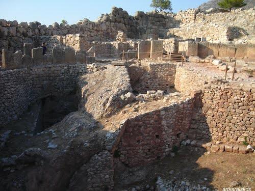 Projet de voyage en Grèce été 2018 Mycene10