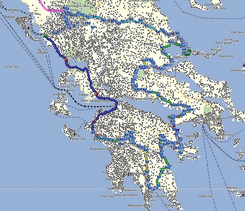 Projet de voyage en Grèce été 2018 Parcou10