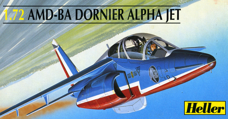 Dasault Breguet Dornier Alphajet, 1/72, Heller Heller18
